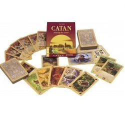 Catan Cartas Mini De Viaje, juegos para 2 de cartas